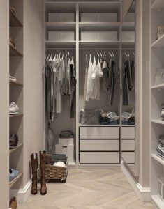 Closet, Visualization, Interior Design, Dressing Room