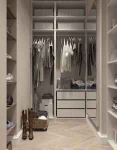 Closet, Visualization, Interior Design, Dressing Room